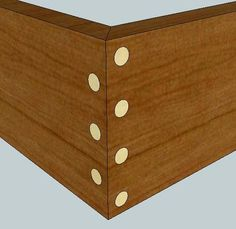 Dowels for miter joints? - by gfadvm @ LumberJocks.com ~ woodworking community
