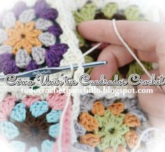 Web de crochet y patrones gratis con tutoriales en video, paso a paso y miles de patrones para imprimir Knitted Blankets, Crochet Hats, Knitting, Ideas, Crochet Stitches, Embroidery, Appliques, Knitting Hats, Tricot
