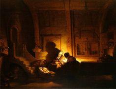 Die heilige Familie (Rembrandt van Rijn, 1644)
