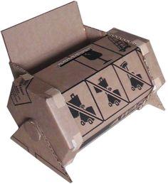 Cardboard Design Workshop- bank