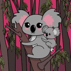 Koalas / Pendientera
