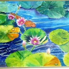 Waterlily-Pond - Yvonne West