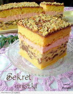 Sekret mniszki Uwaga - ciasto jest na naprawdę dużą, ro… na Stylowi.pl