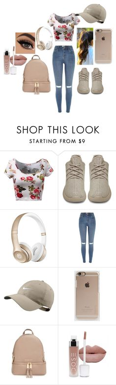"""Yeezy--yzy"" by fannyronaldo ❤ liked on Polyvore featuring adidas Originals, Beats by Dr. Dre, River Island, NIKE, Incase, MICHAEL Michael Kors, women's clothing, women, female and woman"