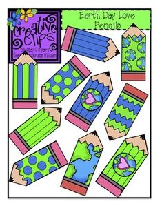 Free Earth Day Pencil Clipart from Creative Clips by Krista Wallden! Snatch 'um up! Creative Clips, Classroom Clipart, Classroom Freebies, Autism Classroom, Pencil Clipart, Earth Day Activities, Banner, Teaching Resources, Primary Teaching