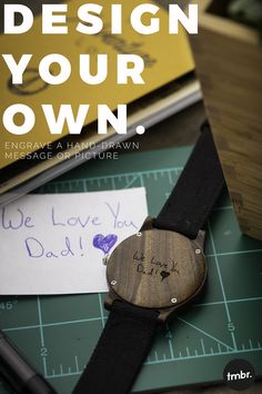 Christmas Gifts - Design Your Own Engraved Wood Watch. Men& Gift Idea, Gift For Him, Gift For. Top 5 Christmas Gifts, Christmas Gifts For Boyfriend, Gifts For Your Boyfriend, Gifts For Husband, Holiday Gifts, Christmas Crafts, Boyfriend Ideas, Christmas Wreaths, Welcome Gifts