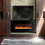 This Dynasty Contemporary Electric Fireplace LED Wall Mount – in. features a colorful LED flame that safely mimics the natural beauty of. Fireplace Lighting, Home Fireplace, Fireplace Design, Fireplace Ideas, Fireplace Inserts, Modern Fireplace, Contemporary Electric Fireplace, Built In Electric Fireplace, Electric Fireplaces