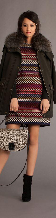 Trina Turk - Fall 2016 Cool Outfits, Fashion Outfits, Womens Fashion, Fashion Trends, Trina Turk, Fall 2016, Couture Fashion, Peplum Dress, Knitwear