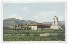 Postcard of Mission San Antonio De Pala, California (early 20th Century), from New York Public Library Digital Collections