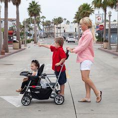 Joovy® Caboose Ultralight Tandem Stroller in Black 20 Min Cardio Workout, No Equipment Workout, Baby Trolley, Jogging Stroller, Getting Back In Shape, Tandem, New Moms, Little Ones, Fit Women