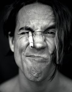 Anthony Kiedis by Anthony Saint James