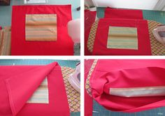 I'm making new seatsacks aka Chair Pockets this year. Tutorial in case I need a refresher!