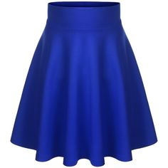 BIADANI Women Versatile Flared Stretch Wide Band Skater Skirts Olive... (€9,98) ❤ liked on Polyvore featuring skirts, blue, bottoms, circle skirt, flared hem skirt, blue circle skirt, midi circle skirt and flared skirt