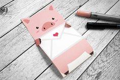 KuneCoco: Freebie zum Ausdrucken – Schweinchen-Liebesbrief zum Valentinstag! <3