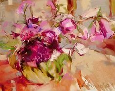 Dmitry Patrushev Was born in city Glazov in Has graduated Glazov's Art School in Was engaged in sculptor, painter, water-col. Oil Painting Flowers, Abstract Flowers, Oil Painting On Canvas, Canvas Art, Flower Paintings, Modern Art Movements, School Painting, Different Kinds Of Art, Still Life Flowers