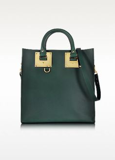 Saddle Leather Square Albion Tote - Sophie Hulme, bag, сумки модные брендовые, bags lovers, http://bags-lovers.livejournal
