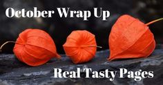 October 2017 Wrap Up! Real Tasty Pages #books