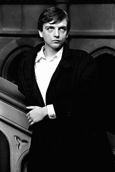 Mark E Smith looking a formidable presence in his heyday.