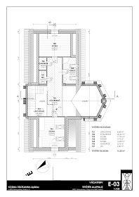 K O Z M A Z S U Z S A N N A építész: Zalaegerszeg, Teskánd, Családi ház tanulmány terve Floor Plans, Houses, Architecture, Modern, Homes, Floor Plan Drawing, Home, At Home