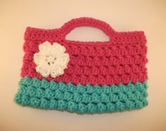 Child's Purse with flower