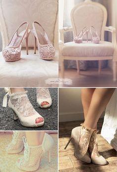 Zapatos con estilo para novias