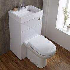 Linton Combination Toilet & Basin Unit - Image 2