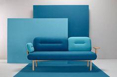 Chameleon couch by La Selva