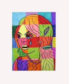 POP ART KIDS by heidabjorg, via Flickr Pop Art For Kids, Art Kids, 8th Grade Art, Pop Art Portraits, Arte Pop, Arts Ed, Art Lesson Plans, Art Club, Art Plastique