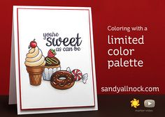 Limited color palette – Sunny Studio Stamps – Sandy Allnock