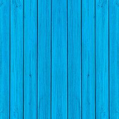 Wooden Planks Blue