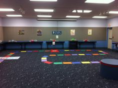 Life Sized Candyland at What Happens in Storytime
