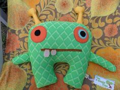 Vintage fabric monster :)