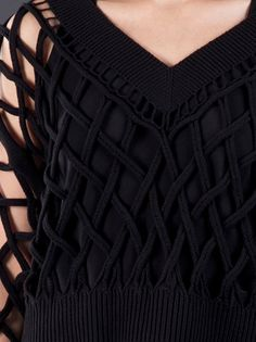 Alexander Wang - Lattice cable pullover 5