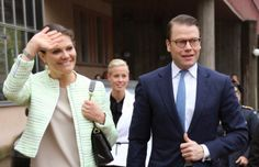 MYROYALS &HOLLYWOOD FASHİON: 8 May :Crown Pincess Victoria and Prince Daniel visited  the Department of Peace and Conflict Research at Uppsala University .