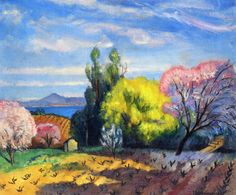 Spring In Saint Tropez -   Charles Camoin
