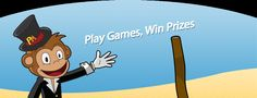 Like playing online games for fun than just click on Theprizemonkey.com where you can play free games for prizes. Visit: http://www.theprizemonkey.com/