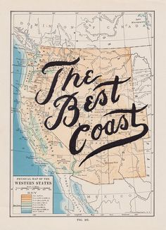 West is Best - by Know Where Co. #home