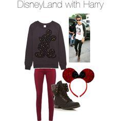 DisneyLand With Harry