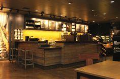 I always appreciated the Starbucks designs: Starbucks store Portland Oregon