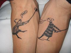 So witty. There are very many Edward Gorey tattoos. The artist who did mine (from a William Holman Hunt painting) had a great one in his look book but I haven't seen it online yet.