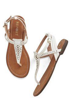 So Fresh and So Gleaming Sandal, #ModCloth