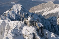 Lomnický peak in High Tatras, Slovakia