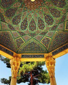 Tumba de Hafez, em Xiraz