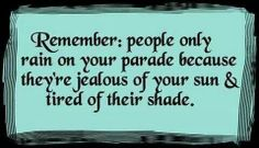 Jealous people