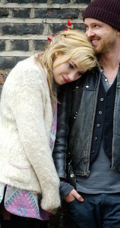 Imogen Poots and Aaron Paul - Literally one of the most adorable movie couples ever.
