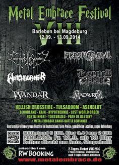 New-Metal-Media der Blog: Festival Update: Metal Embrace Festival 2014 #news #festival