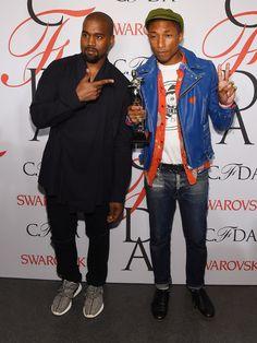 Kanye West et Pharrell Williams