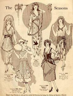 Weldon's Paper Patterns - costumes