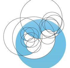 The twitter logo was made entirely out of circles.