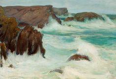 Władysław Ślewiński, Morze w Bretanii (Belle Isle)